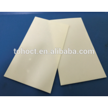 Hoja de cerámica ultrafino Zirconia cerámica / ZrO2 placas de cerámica / sustrato de cerámica para el teléfono celular Backage