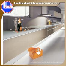 Grey Contrachapado Gabinete de cocina resistente al agua (brillante)