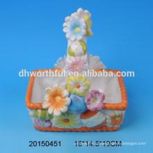 Цветочные корзины с керамическими корзинами для цветов на Пасху