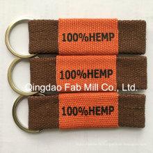 Chaîne porte-clés en fibre de chanvre pour promotion (HKR-16)