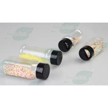 Garrafa de plástico de agitação de 100ml Pet para produtos Decaration bolo (PPC-PSB-58)
