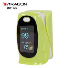 Oxymètre d'oxygène de sang médical d'impulsion de doigt approuvé par FDA de DW-82C