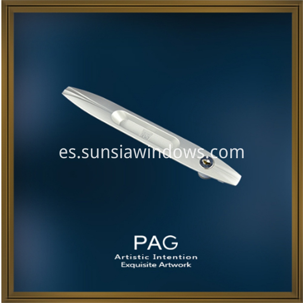 Commercial Zinc Alloy Pull Handles for Sliding Door and Window