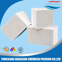 Cordierite Thermal storage RTO/RCO Honeycomb Ceramic as catalytic converter for heat recovery