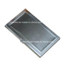 Fördernder kundengebundener gravierter AluminiumVisitenkartenhalter