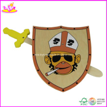 Wooden Children Toy Shield for Age 3+