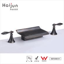 Haijun The Contemporary 3 Way Dual Handle 0.1 ~ 1.6MPa Bathroom Brass Faucet