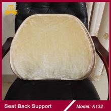 Fourrure d'hiver siège chaise Support, Support de siège auto fourrure retour