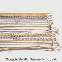 Colar de corrente de bronze de venda inteira para Lockets Jewellry