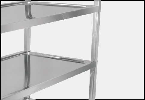 Stainless Steel ServiceTrolley