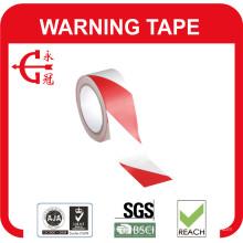 Rubans adhésifs de marquage pour rubans d'avertissement en PVC