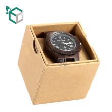 Marmormuster Logo Druck Geschenkpapier Box Uhrenbox mit Deckel