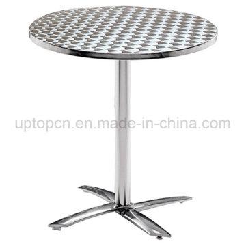 Напольный квадратный стол из нержавеющей стали для пищевой суде (СП-AT360)