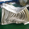 Galvanized steel air conditioning ventilator spiral duct