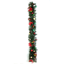 1.8m Christmas pine garalnd decorations