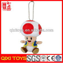 """Super Mario Toad 5"""" Backpack Plush Keychain Toy for Gift"""
