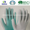 PVC-Punkte Polyester-Arbeitsschutzhandschuhe