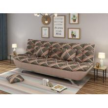 Canapé-lit en tissu d'hôtel