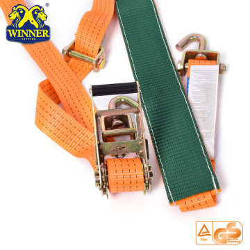 Hot Selling Oranje Tie Down Ratchet Set Ratel Tie Down Bandjes
