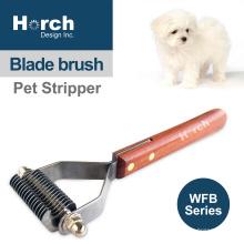 100% New Material Pet Rake Knot Stripper Brush Stainless Steel
