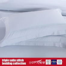 Triple Satin Stitch Bedding Set Classical Design