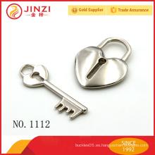 Alta calidad decorativa mini candado con la clave, en un precio preferencial al por mayor