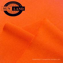 T-shirt de sport en tricot jersey avec col rond97, polyester 3, spandex 1x1