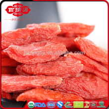 Rojo wolfberry orgánico