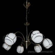 Moderno y Popular Eropean-estilo lámpara de iluminación (D-8122/6)