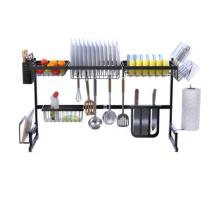 New Arrival Kitchen Furniture Kitchen Accessories 201/304 Stainless Steel Kitchen Dishes Racks Storage Boxes &Bins