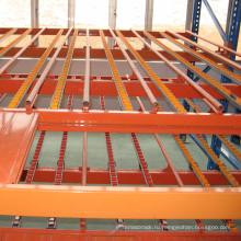 коробка живые гравитационных стеллажей для хранения потока