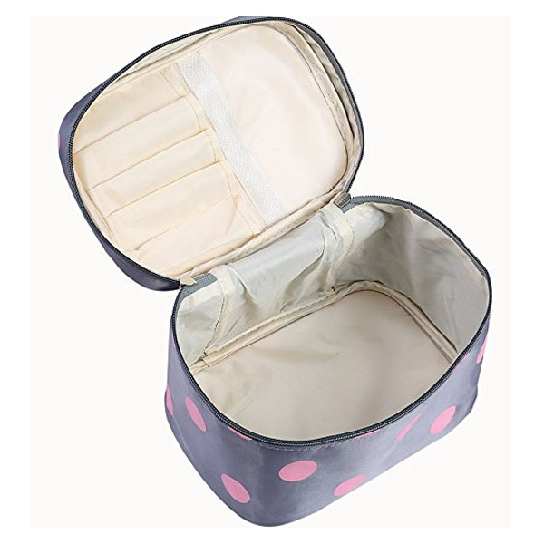 Capacity Makeup Bag