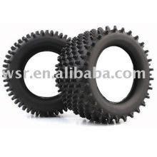 Custom RC rubber tires