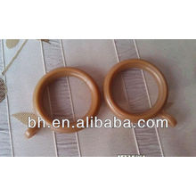 gold decorative plastic curtain rings