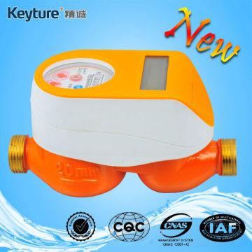 Nuevo concepto de medidor de agua residencial prepago