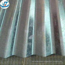 22 gauge corrugated steel roofing sheet / galvanized steel plate coil