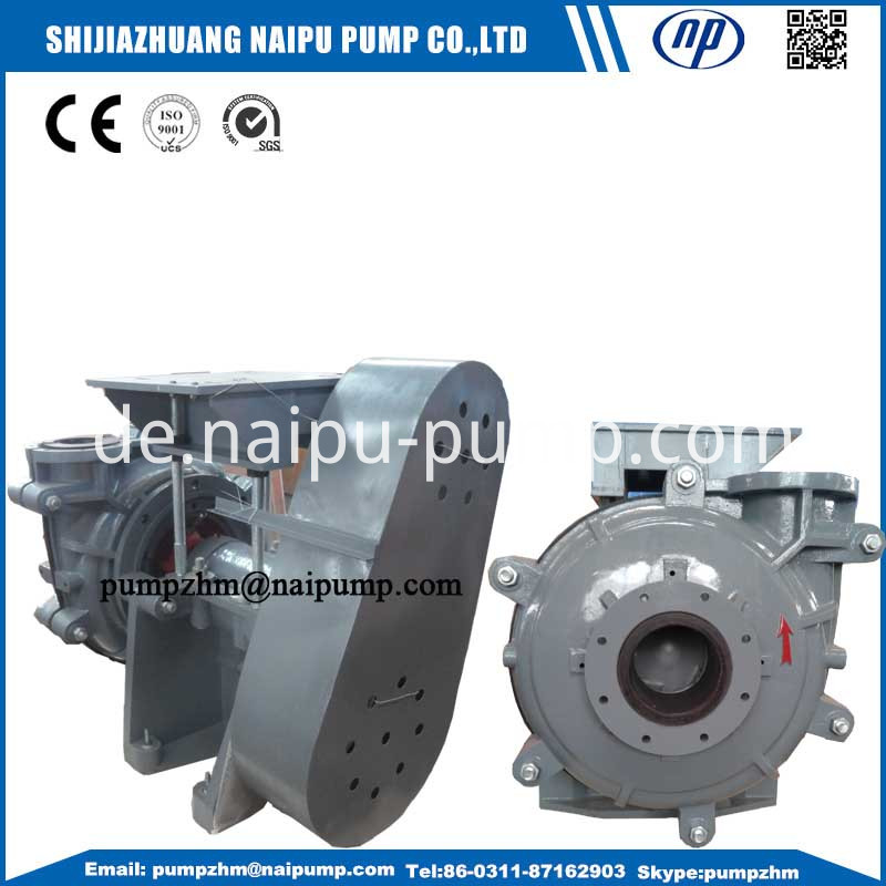 52 8x6F-AH slurry pumps