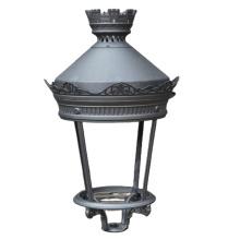 China oem aluminum casting product manufacture supply foundry Light Lamp cast aluminum post base