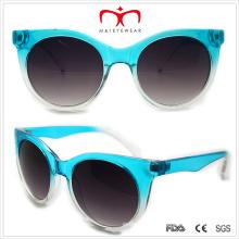 Plastic Unisex Cat′s Eye Sunglasses (WSP508303)