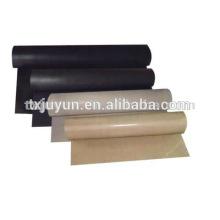 Tela de tela de PTFE / tela de teflón / ptfe tejido de tela de fibra de vidrio recubierto / tela recubierta de teflón