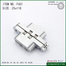 Cross concealed hinge door pivot hinge F602