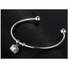 Pulseira de alta qualidade, pulseira estrela feminina de moda, acessórios de pulseira de cobre