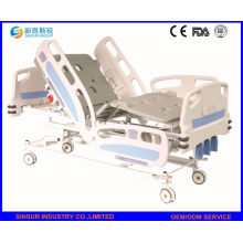 China Alta calidad Manivela manual 3-Function cama de hospital paciente ajustable