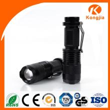 Mini linterna eléctrica de la linterna LED del poder más elevado 3W Mini antorcha portable de la promoción