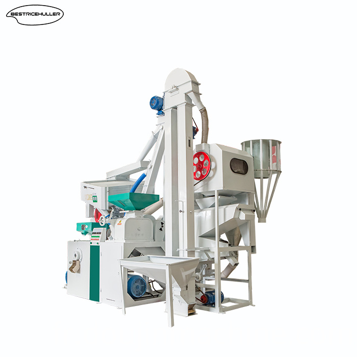 Combined Rice Mill Machine