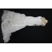 New arrival Lace Fabric White Women Wedding Dresses