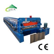 Máquina perfiladora de láminas de plataforma compuesta de 3 pulgadas