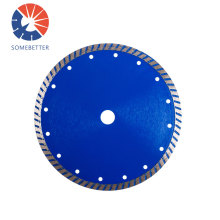 Wet cutting diamond 300mm 350mm 12''inch segment saw blade continuous rim stone blade for cutting stone