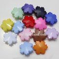 Loose Opaque Acrylic Plastic Snowflake Flower Beads