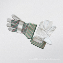 Kuh Split Leder Voll Palm Handschuh-3056.08